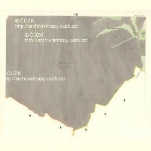 Sklenau (Sklenowa) - m2737-1-007 - Kaiserpflichtexemplar der Landkarten des stabilen Katasters