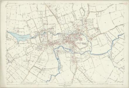 Somerset XII.10 (includes: Chew Magna; Chew Stoke; Stanton Drew) - 25 Inch Map