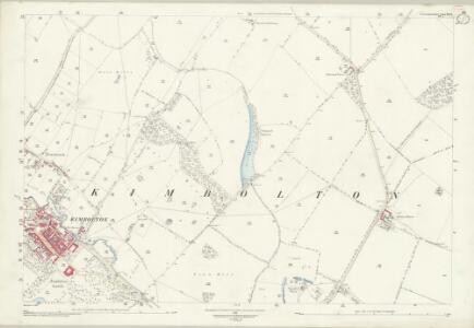 Huntingdonshire XX.8 (includes: Kimbolton) - 25 Inch Map