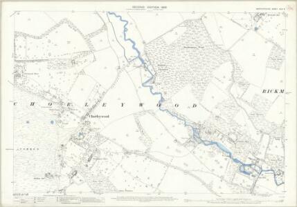 Hertfordshire XLIII.3 (includes: Chorleywood; Rickmansworth Urban; Sarratt) - 25 Inch Map