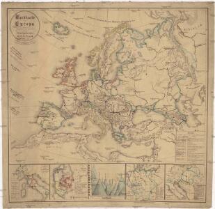 Wandkarte von Europa