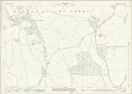 Oxfordshire XXVII.4 (includes: Bletchingdon; Charlton on Otmoor; Oddington; Wendlebury; Weston on the Green) - 25 Inch Map
