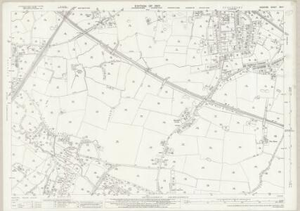 Cheshire XIX.7 (includes: Cheadle and Gatley; Hazel Grove and Bramhall; Stockport) - 25 Inch Map