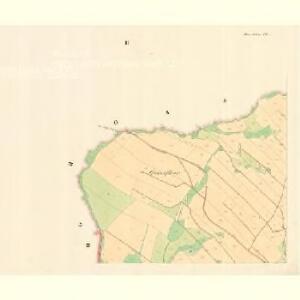 Klein Mohrau (Morawa Mala) - m1687-1-002 - Kaiserpflichtexemplar der Landkarten des stabilen Katasters