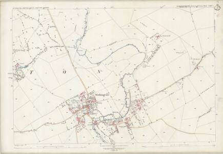 Gloucestershire XXXV.7 (includes: Compton Abdale; Shipton; Withington) - 25 Inch Map