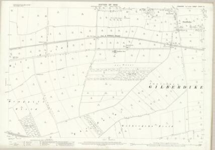 Yorkshire CCXXIII.15 (includes: Eastrington; Gilberdyke) - 25 Inch Map