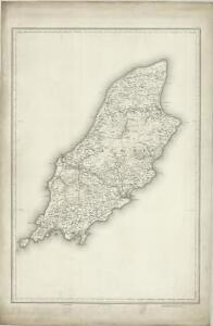 Isle of Man (Outline) - OS One-Inch Revised New Series