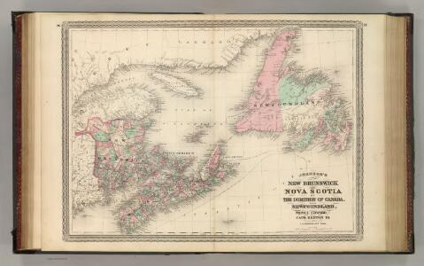New Brunswick and Nova Scotia.