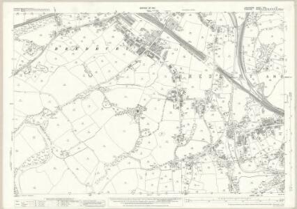 Lancashire CXII.10 (includes: Bredbury And Romiley; Stockport) - 25 Inch Map