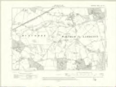 Berkshire XXX.SE - OS Six-Inch Map