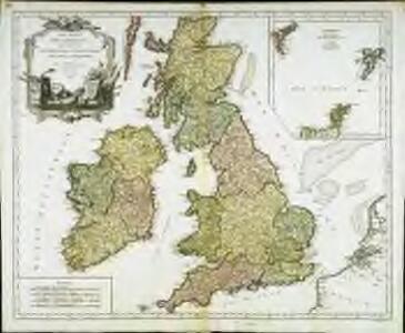 Les isles Britanniques qui comprennent les royaumes d'Angleterre, d'Ecosse et d'Irlande