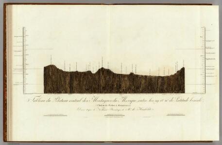 Tableau du Plateau central des Montagnes du Mexique.