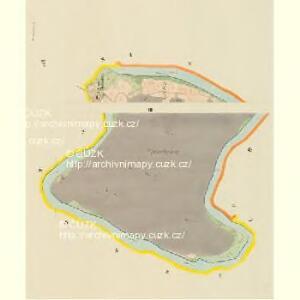 Drustau (Drustow) - c1549-1-003 - Kaiserpflichtexemplar der Landkarten des stabilen Katasters