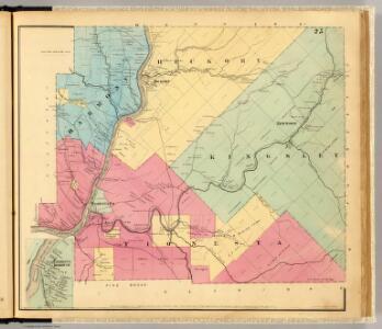 Harmony, Hickory, Kingsley, Tionesta townships.