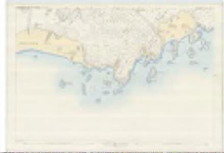 Argyll and Bute, Sheet CXVII.12 (Kilfinichen) - OS 25 Inch map