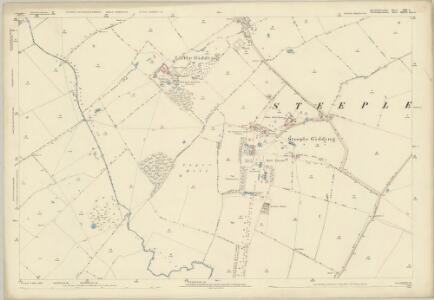 Huntingdonshire XIII.5 (includes: Great Gidding; Hamerton; Little Gidding; Steeple Gidding; Winwick) - 25 Inch Map