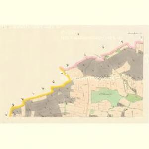 Hradischt (Hradisst) - c2304-1-001 - Kaiserpflichtexemplar der Landkarten des stabilen Katasters