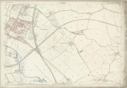 Hertfordshire XXXIV.12 (includes: Colney Heath; London Colney; St Albans) - 25 Inch Map