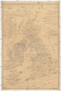 Her most excellent majesty queen Victoria this Hydrolographical map of the British Isles