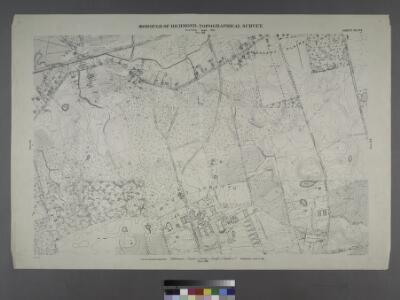 Sheet No. 94. [Includes Richmond Valley, Mount Loretto and Pleasant Plains.]; Borough of Richmond, Topographical Survey.