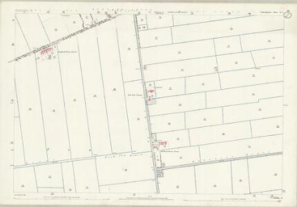 Cambridgeshire VI.9 (includes: Thorney) - 25 Inch Map