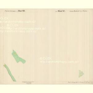 Buchwald - c0626-1-008 - Kaiserpflichtexemplar der Landkarten des stabilen Katasters
