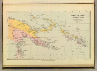 New Guinea & Solomon Islands.