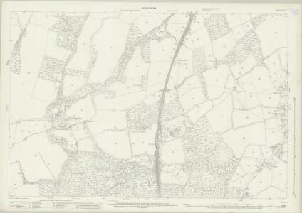 Surrey XL.7 (includes: Capel; Ockley) - 25 Inch Map
