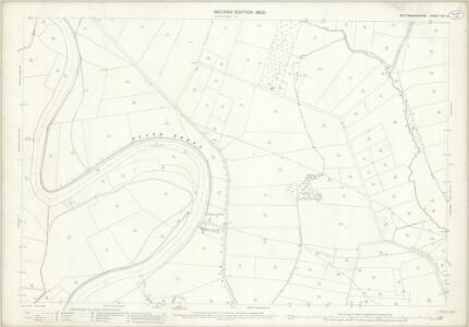 Nottinghamshire XXV.12 (includes: Besthorpe; Carlton On Trent; Cromwell; North Collingham; South Collingham) - 25 Inch Map