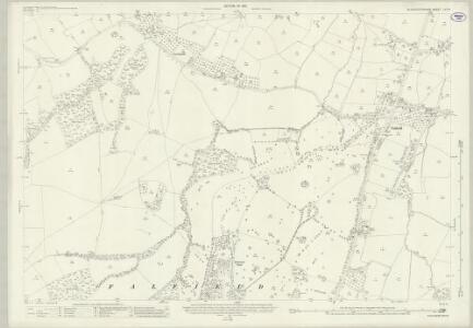 Gloucestershire LV.16 (includes: Cromhall; Falfield; Rockhampton; Thornbury; Tortworth) - 25 Inch Map