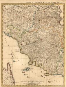 Estat du Grand Duc de Toscane, &c