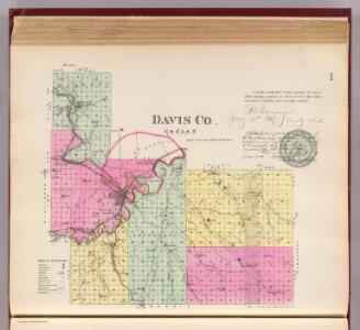Davis Co., Kansas.