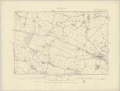 Warwickshire XXI.SW - OS Six-Inch Map