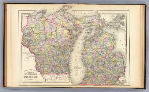 Michigan, Wisconsin.
