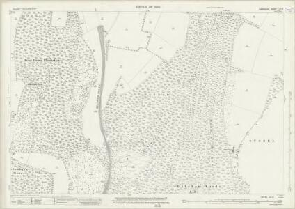 Hampshire and Isle of Wight LX.12 (includes: Buriton; Harting) - 25 Inch Map