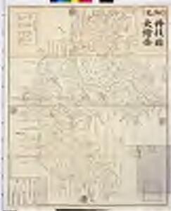 細見丹後国大絵図