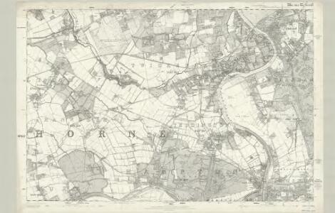 Surrey VI - OS Six-Inch Map