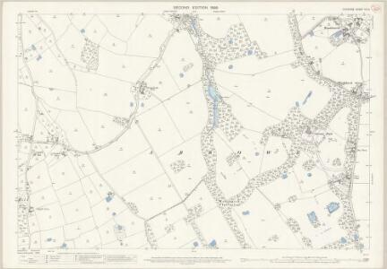 Cheshire XIII.9 (includes: Birkenhead St Mary; Frankby; Greasby; Irby; Thurstaston) - 25 Inch Map