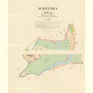Jurzinka - m1129-1-001 - Kaiserpflichtexemplar der Landkarten des stabilen Katasters
