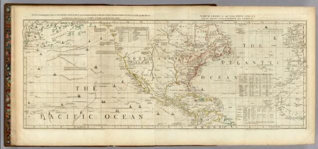 Chart containing the Coasts of California, New Albion, and Russian Discoveries to the North.