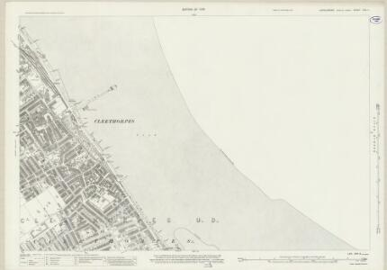 Lincolnshire XXIII.9 (includes: Cleethorpes) - 25 Inch Map
