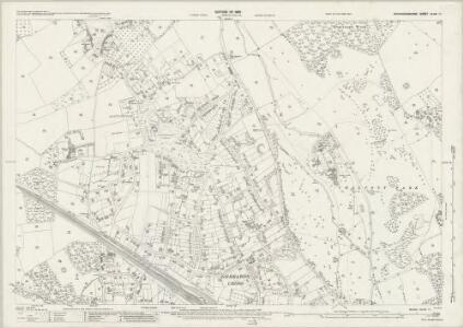 Buckinghamshire XLVIII.11 (includes: Chalfont St Peter; Gerrards Cross) - 25 Inch Map