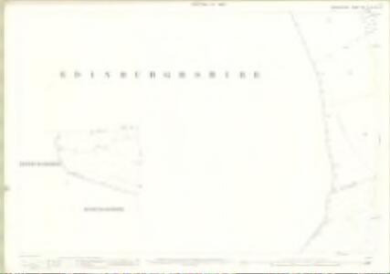 Berwickshire, Sheet  019.10 & 019.14 - 25 Inch Map