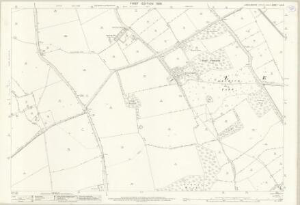 Lincolnshire LVI.6 (includes: Legbourne; Little Cawthorpe; Louth; Raithby cum Maltby; Stewton; Tathwell) - 25 Inch Map