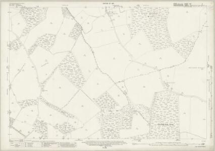 Essex (New Series 1913-) n XII.3 (includes: Barley; Chrishall; Great Chishill; Langley; Little Chishill; Nuthampstead) - 25 Inch Map