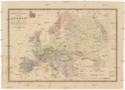 Geognostischer Atlas