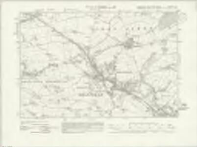 Yorkshire CCXCVIII.SE - OS Six-Inch Map
