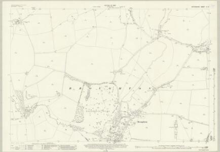 Oxfordshire V.15 (includes: Banbury; Broughton; North Newington; Tadmarton) - 25 Inch Map