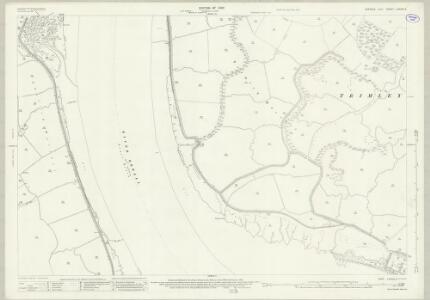 Suffolk LXXXIX.3 (includes: Shotley; Trimley St Martin; Trimley St Mary) - 25 Inch Map