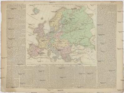 L'EVROPE POLITIQUE &c. en 1826 pour etre comparée a L'EVROPE POLITIQUE de 1812